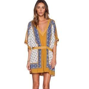 Free People Santa Cruz Kimono Sleeve Dress